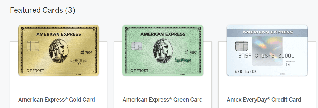 American Express Rewards